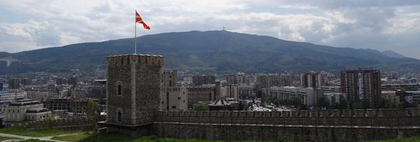 Mazedonien Kale Vodno Skopje