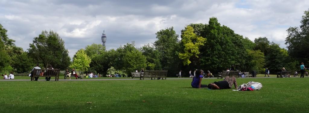 Regent's Park Wiese