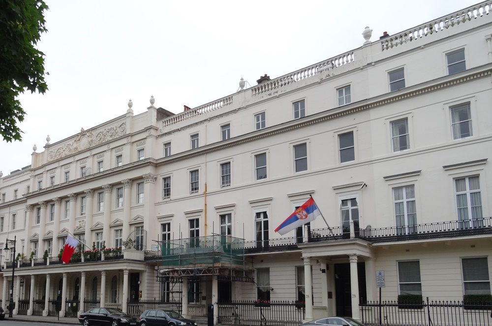 Botschaftsviertel London Belgravia Belgrav Square