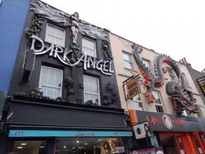 Fassaden in Camden Town