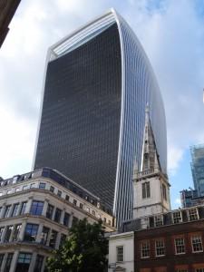 London Skyline alt und neu