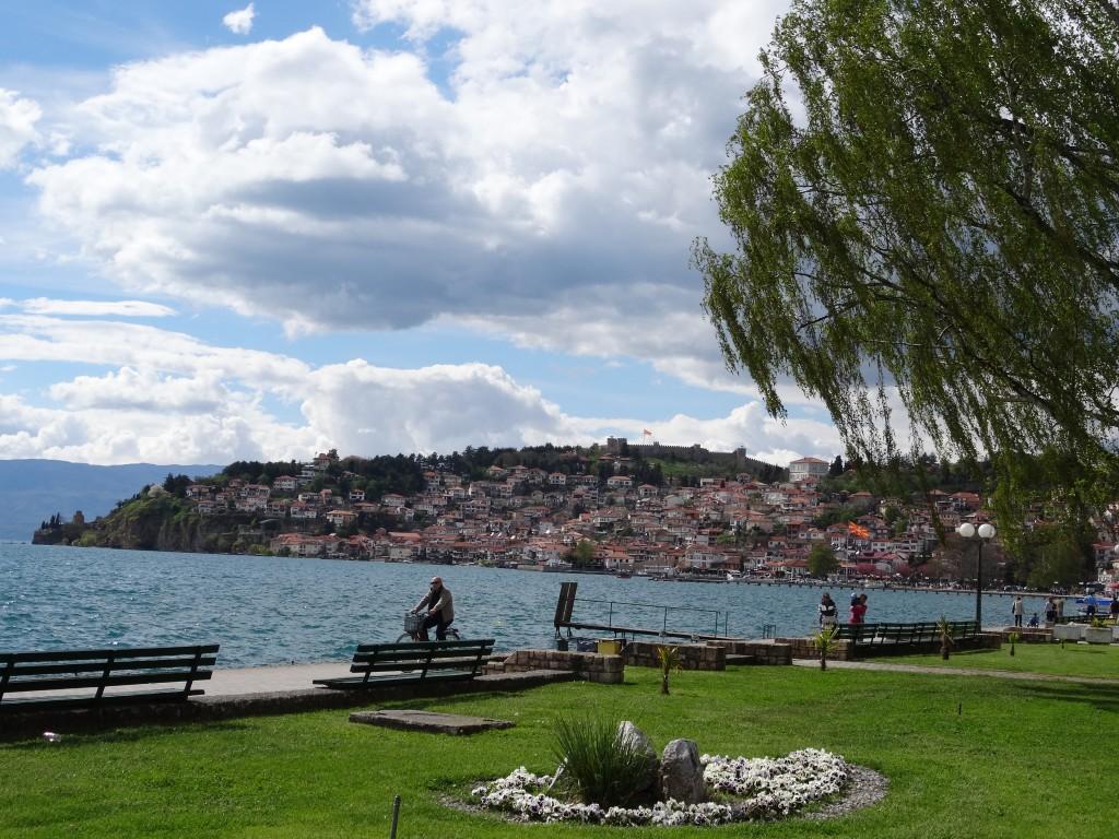 Ohridsee Ohrid Mazedonien