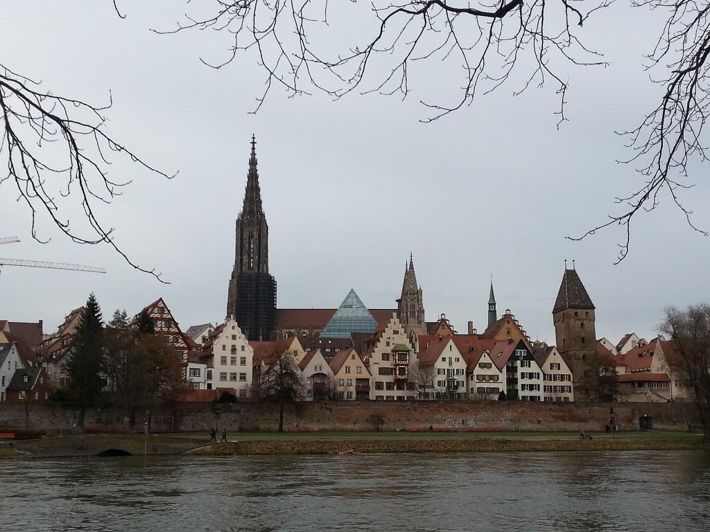Ulm im Winter