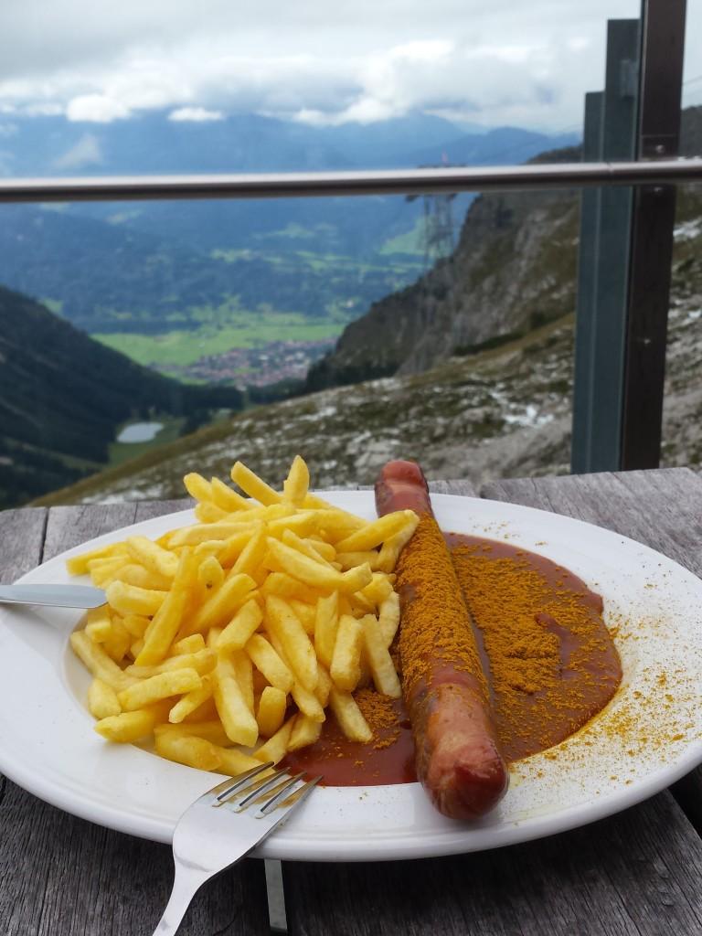 Currywurst mit aussicht