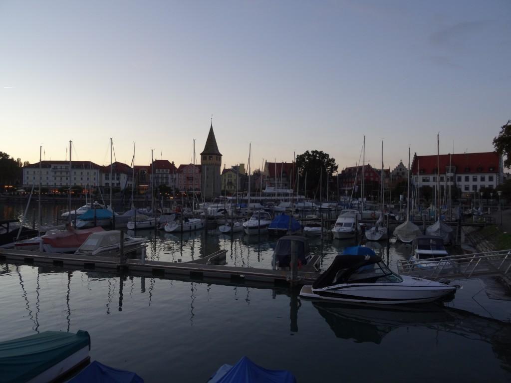 Lindau Hafen im Sommer