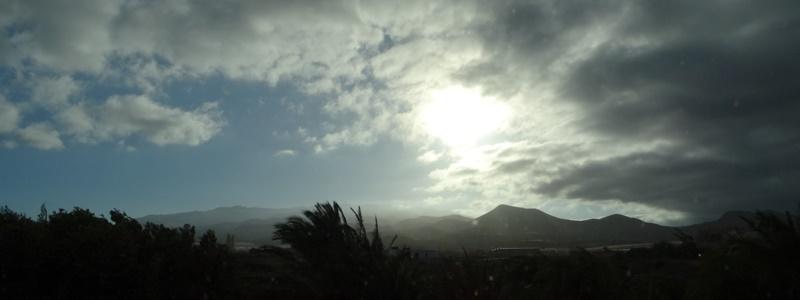 Gran Canaria Wolken Panorama