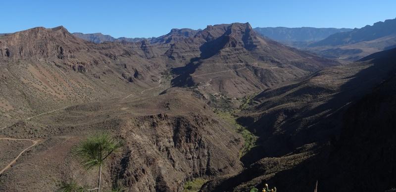 Gran Canaria Berge Fataga Tal